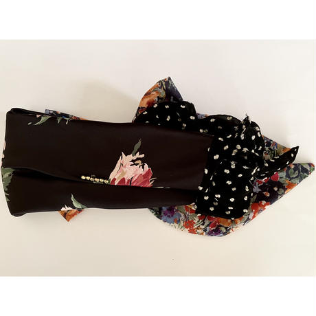 Mix scarf/Black