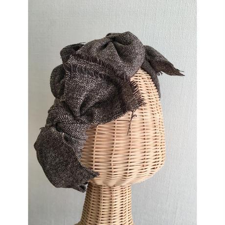 tweed ribbon/Brown