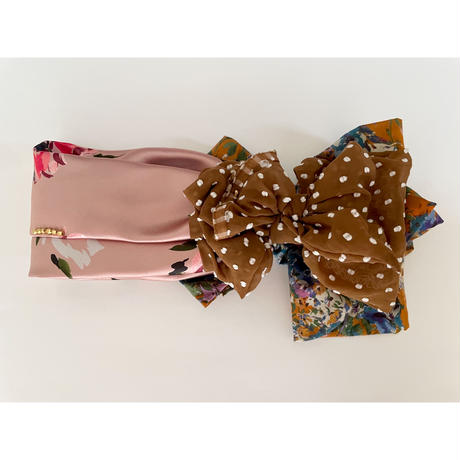 Mix scarf/Pink