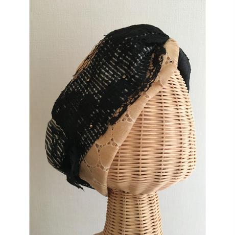 Denim quilt/Black