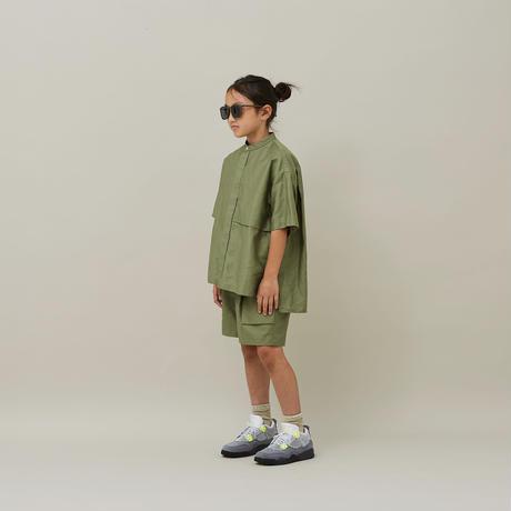 MOUN TEN. / C/L moleskin shirts 21S-MS19-0920c Khaki 1(adult)