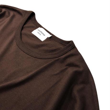 nunuforme / Exclusive Item  Quarter Sleeve T  NNFMB00A   BROWN  F(ウィメンズ)