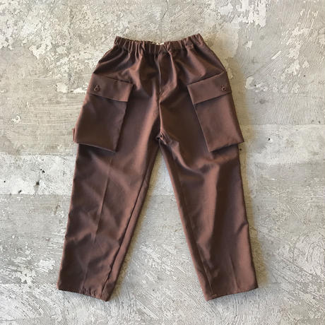 SWOON / サイドポケットパンツsw15-609-025A Brown F(WOMENS)