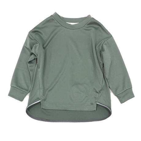 MOUN TEN. / dry reflect longsleeve MT202016-c ashgreen 1(adult)