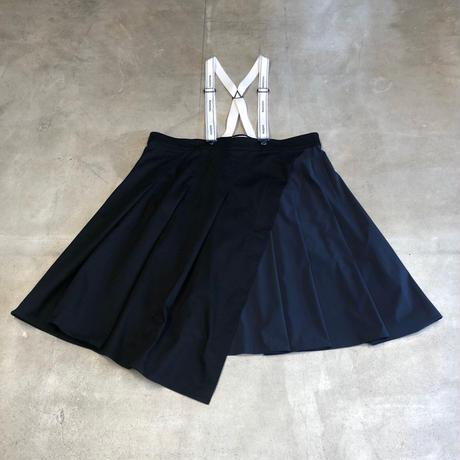nunuforme / タックサロペットスカート nf14-712-103 Black 155