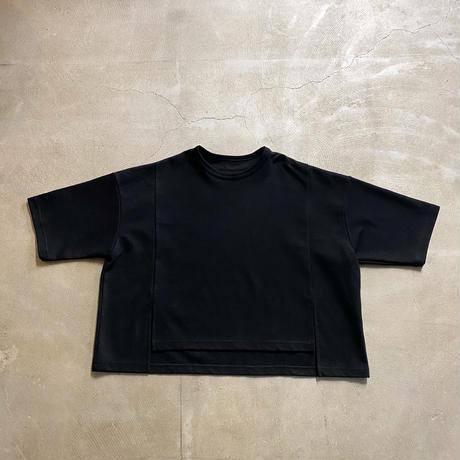 nunuforme / フロントスリットT nf15-984-605A Black  2(160/F)