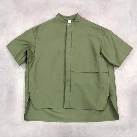 MOUN TEN. / C/L moleskin shirts 21S-MS19-0920a Khaki 110.125.140