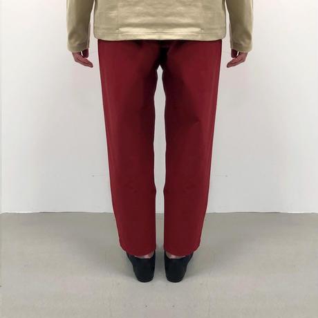 Bague  /ベクターパンツ BG124011-A   MATTE RED  F(ウィメンズ)