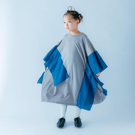 nunuforme / スクエアワンピース  nf15-824-500 Gray 95.105.115.125.135.145