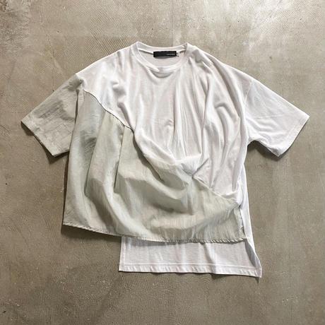 nunuforme / フロントドレープT nf15-813-511A White 1(155).2(160/F)