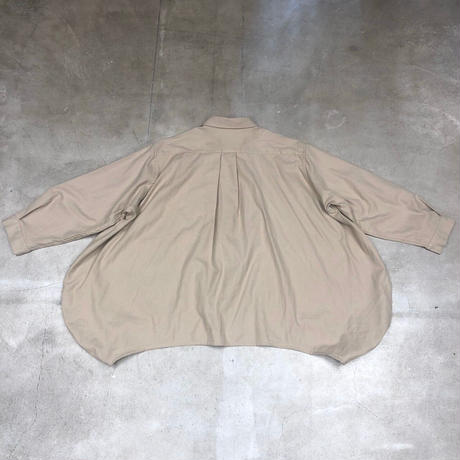 nunuforme / サークルシャツnf14-545-012A Beigel  F(WOMENS)