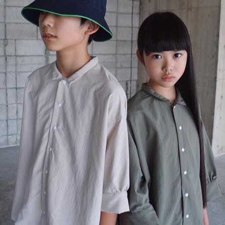 SWOON / ワイドシャツsw15-509-024 Khaki M.L.XL
