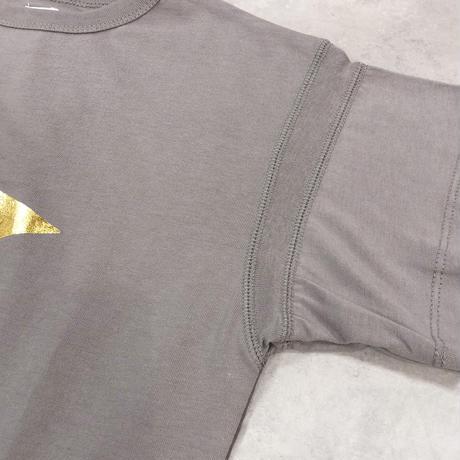 6°vocale/ ルースポーラーTシャツ KN-STYP-21S2 ASH GRAY 130.140.150.160