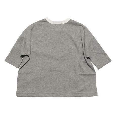 "nunuforme / Exclusive Item ""NOT nunu for me T-shirt"" mb016 TOPGREY"