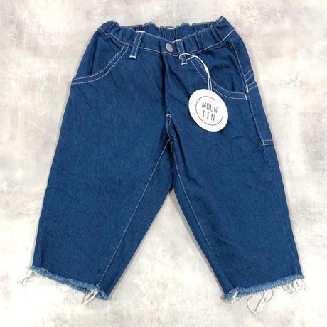MOUN TEN. / widecropped denim 21S-MT14-0927-a  blue 95.110.125.140