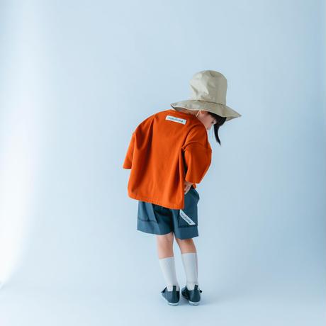 nunuforme / フロントスリットT nf15-984-605A Orange  2(160/F)
