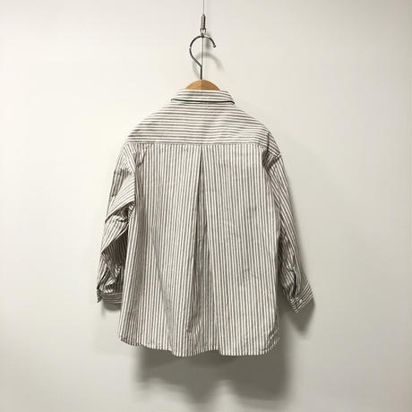 MOUN TEN. / stripe big shirts MT202010-a stripe 95.110.125.140