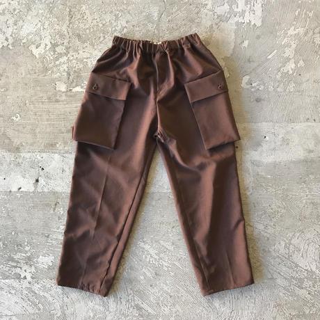 SWOON / サイドポケットパンツsw15-609-025 Brown M.L.XL