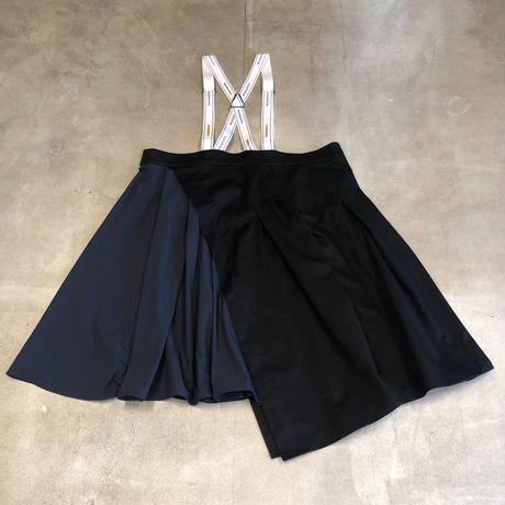 nunuforme / タックサロペットスカート nf14-712-103 Black 95.105.115.125.135.145