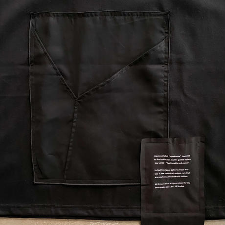 nunuforme / ミックスポケット T nf15-822-603A Black 1(155).2(160/F)