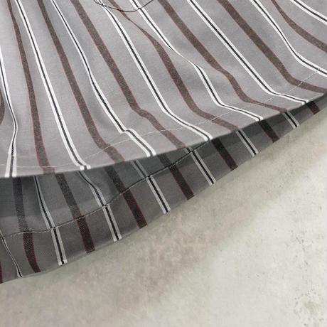 Bague  /REGIMENTALSTRIPE コットンキュロットパンツ   BG104011   Gray×Red ( 80-145cm )
