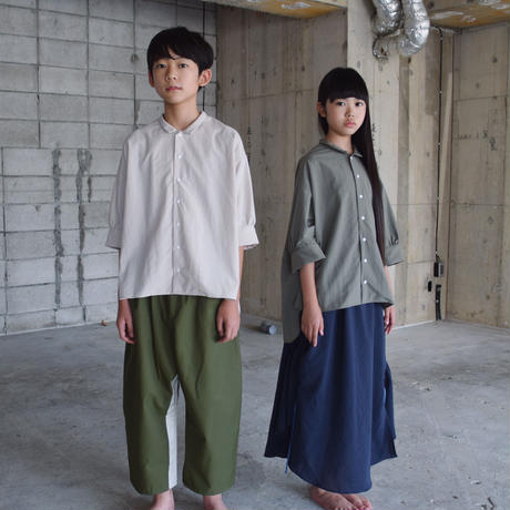 SWOON / ワイドシャツsw15-509-024A Gray F(WOMENS)
