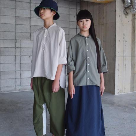 SWOON / ワイドシャツsw15-509-024 Gray M.L.XL