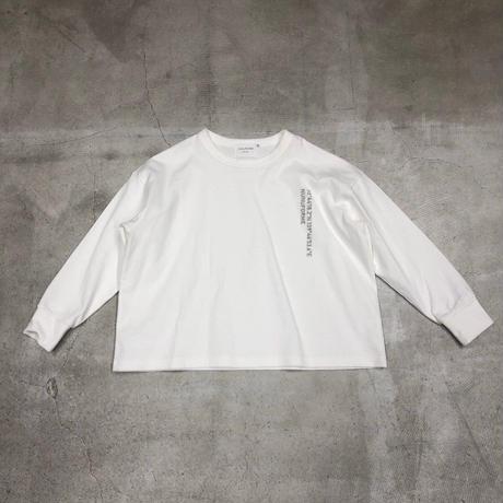 nunuforme /アドレス刺繍Tnf14-808-600A White F(WOMENS)
