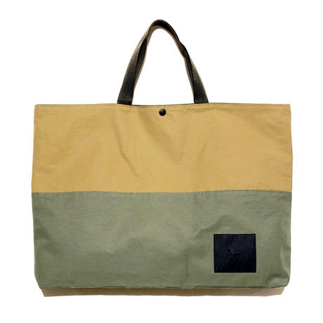 Bague GROSGRAIN TOTE BAG / KHAKI