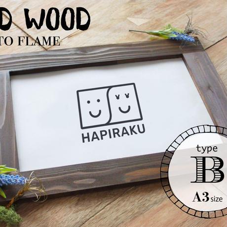 再再再再販!《※受注生産》photo flame Bタイプ 木製額縁/A3サイズ