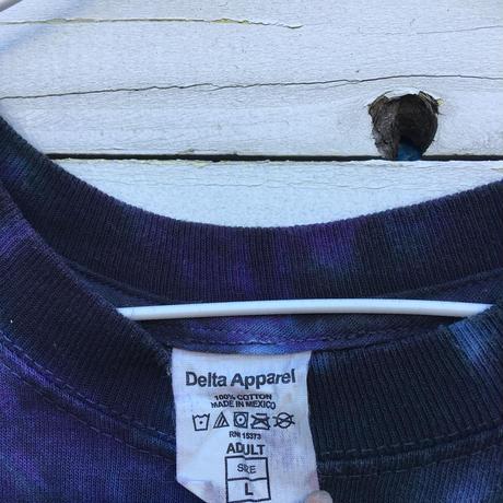 メンズ古着 Delta Apparel 柄Tシャツ 半袖[047]