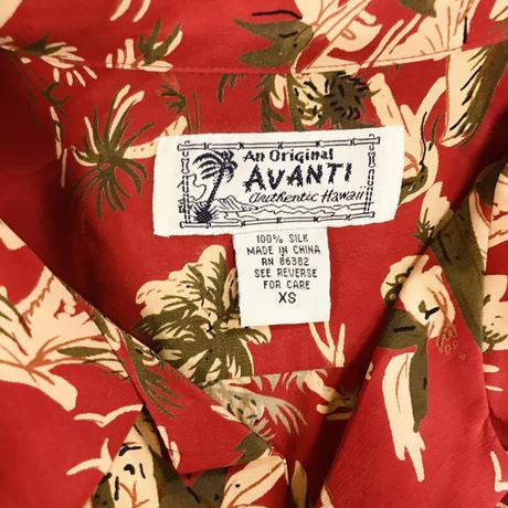 メンズ古着 AVANTI SILK アロハシャツ  [134]