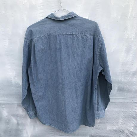 メンズ古着Tommy hilfgerシャツ [074]