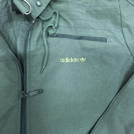 メンズ古着 adidas 万国旗タグ ミリタリー風ジャケット[128]