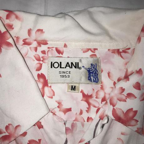 メンズ古着 IOLANIレーヨンアロハシャツ[152]