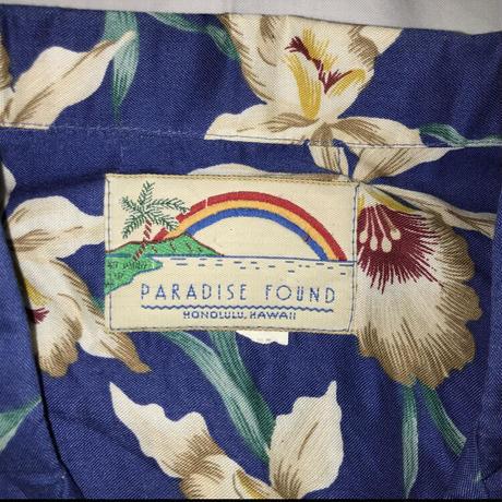 メンズ古着 PARADISE FOUNDアロハシャツ[156]
