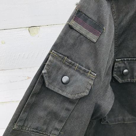 メンズ古着ミリタリーシャツジャケット[077]