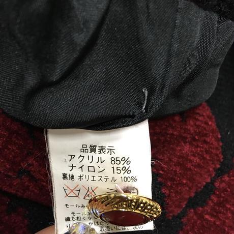 レディース古着 レトロ 花柄カーディガンアウター[038]