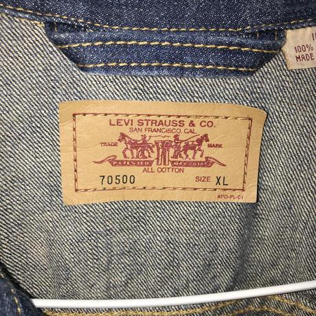 Levi's 70500デニムジャケット[269]