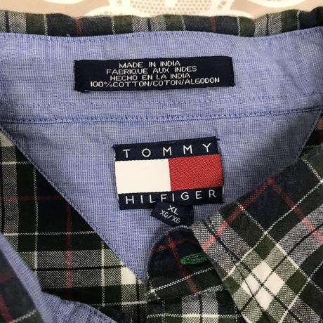 メンズ古着 Tommy Hilfigerチェックシャツ[149]