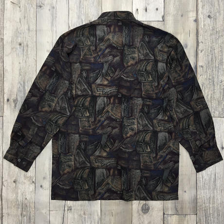 メンズ古着 柄シャツ[036]