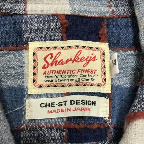 メンズ古着 Sharkey's シャツジャケット [160]