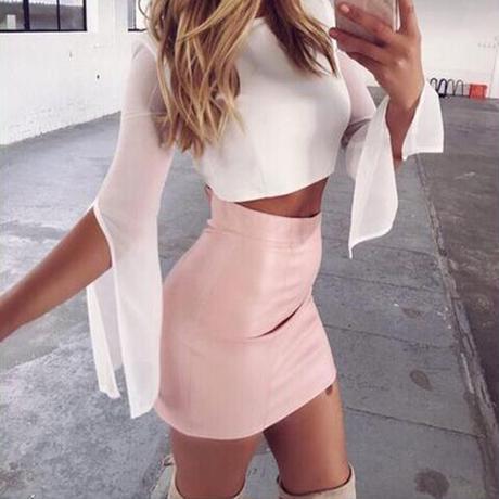 classy baby スカート