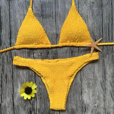 sunflower イエロービキニ