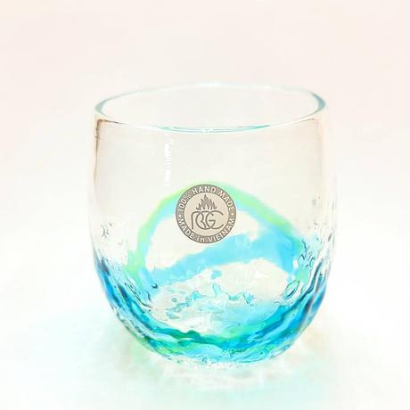 琉球ガラス村★でこたるグラス★全2色★手作り