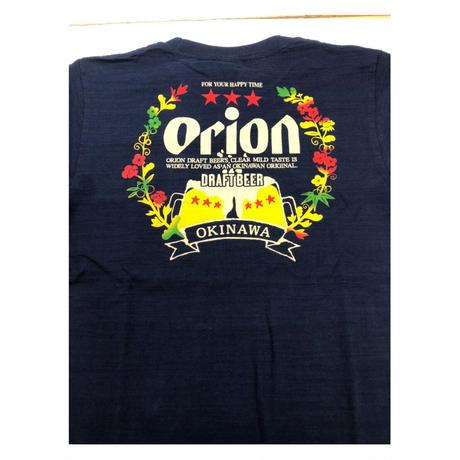 沖縄★オリオンビール乾杯Tシャツ★紅や★XXLまであります★紺と白