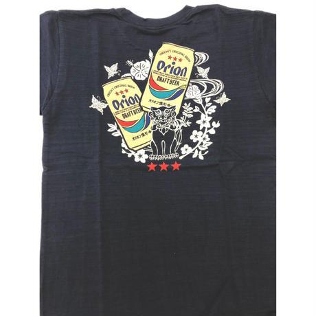 オリオンビールコラボTシャツ★シーサー★沖縄★紅や★紺と白
