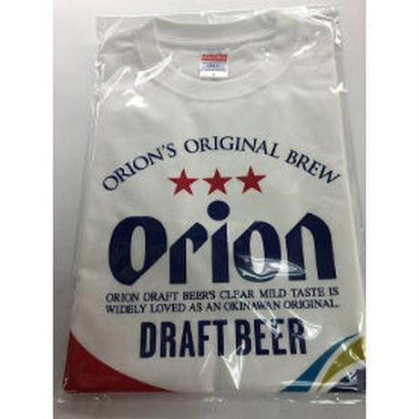 沖縄オリオンビールTシャツ・ドラフト缶デザイン・白