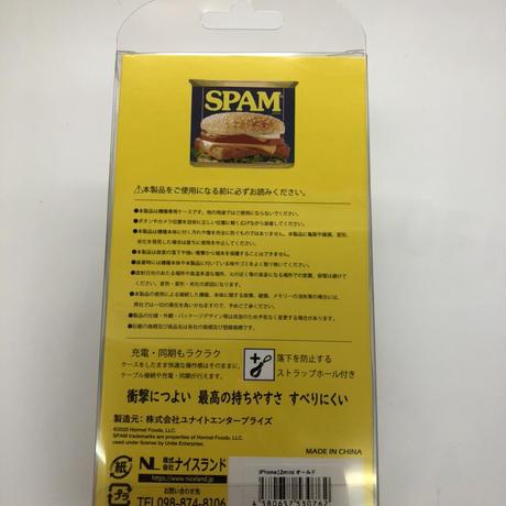 沖縄限定★iPhone12miniケース★5.4インチ★SPAM人物★