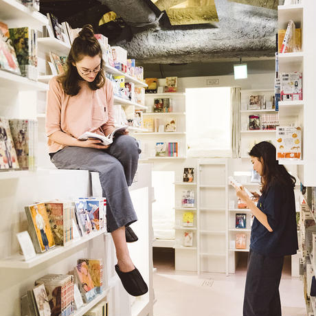 "Nells × MANGA ART HOTEL,TOKYO  オリジナルパジャマ ""KOMA"" TOPS / PANTS (M SIZE)"